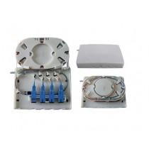 Mini FTTH optic fibre terminal wall box - Unloaded