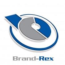 Brand-Rex LC - ST Duplex 8/125 Fibre Patch Lead 1m