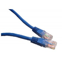 Blue 1m Cat6 Ethernet cable - Patch cable RJ45 UTP
