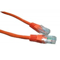 Orange 0.5m Cat6 Ethernet cable - Patch cable RJ45 UTP