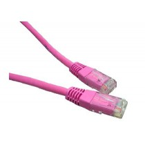 Pink 1m Cat6 Ethernet cable - Patch cable RJ45 UTP