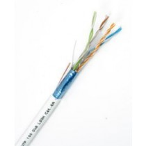 CAT6a F-UTP 10Gig White Shielded Cable 100m