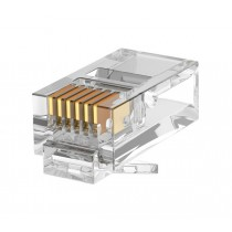 RJ45 unshielded Cat5e 8 Way Plug