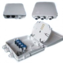 8 Port IP65 Wall mounted Optic Fibre FTTH termination box - unloaded