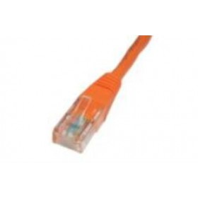 Orange 10m Cat5 Ethernet cable - Patch cable RJ45 UTP