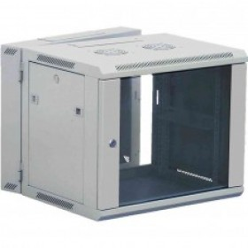 6U Wall Mount Data Cabinet Grey 600mm x 600mm