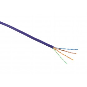 CAT5e UTP Violet Solid Cable 305mtr LSOH