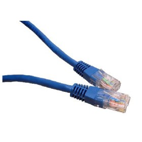 Blue 5m Cat6 Ethernet cable - Patch cable RJ45 UTP