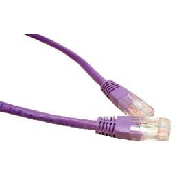 Violet 1m Cat6 Ethernet cable - Patch cable RJ45 UTP