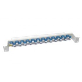 LC Fibre Patch Panel - Singlemode 48 Way Optic Coupler