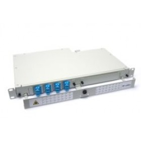 Fibre splice Patch Panel 1U 12 Way SC Singlemode - adaptors & pigtails