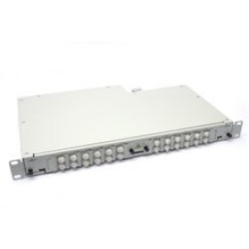 Fibre splice Patch Panel 1U 24 Way FC Singlemode - adaptors & pigtails