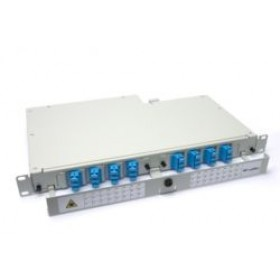 Fibre splice Patch Panel 1U 24 Way SC Singlemode - adaptors & pigtails