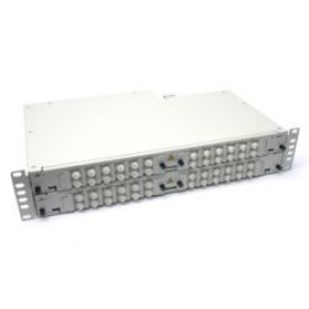 Fibre splice Patch Panel 2U 48 Way FC Singlemode - adaptors & pigtails