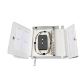 Optical Fibre Wall Box 24 Way LC Singlemode