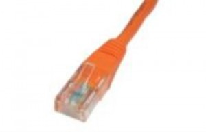 Orange 1m Cat5 Ethernet cable - Patch cable RJ45 UTP