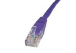 Violet 1m Cat5 Ethernet cable - Patch cable RJ45 UTP
