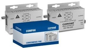 Comnet COMPAK1002MAC1M CNFE1002MAC1-M 10/100Mb Media Converter Pack