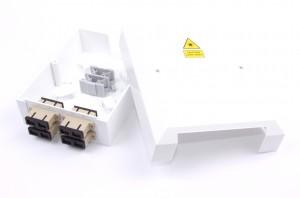 8 Way SC / LC Optical Fibre Termination Box Unloaded