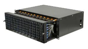 LC 288 fibre 3U MGX Modular Patch Panel
