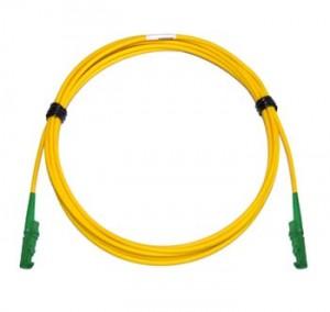 E2000 Angled - E2000 Angled Singlemode fibre patch lead Simplex 2m