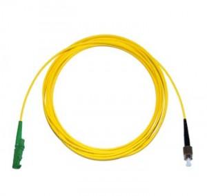 E2000 Angled - FC Singlemode fibre patch lead Simplex 2m