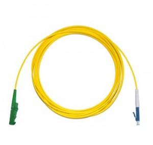 E2000 Angled - LC Singlemode fibre patch lead Simplex 2m