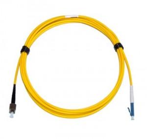 FC - LC Singlemode 2mm fibre patch cord Simplex 0.3m