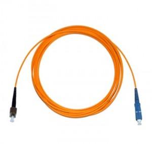 FC - SC Multimode fibre patch cable 62.5/125 OM1 Simplex 5m