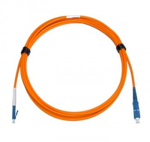 LC - SC Multimode fibre patch cord 62.5/125 OM1 Simplex 1m