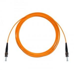 ST - ST Multimode fibre patch cord 62.5/125 OM1 Simplex 1m