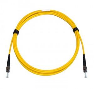ST - ST Multimode fibre patch cord 62.5/125 OM1 Simplex 2m