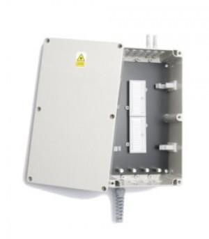 Optical fibre 48 Way ABS underfloor splice Enclosure
