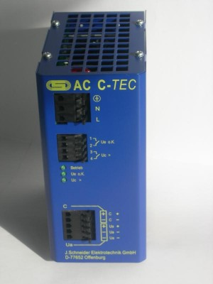 AC C-TEC 2403-1 1KJ 24V DC capacitor buffer power supply UPS