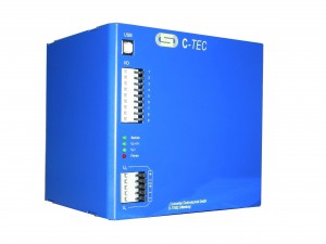 C-TEC 2408-20 20KJ 24v DC capacitor buffered power supply