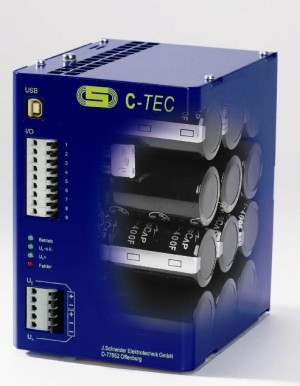 C-TEC 2410-10 10KJ capacitor 24v DC buffer module power supply