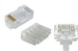 Cat6 UTP Plug RJ45 unshielded 8 Way