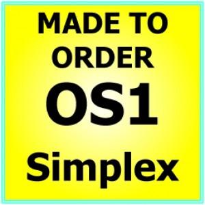 Made to order  OS1 G652D Singlemode Simplex Fibre Patch Cable