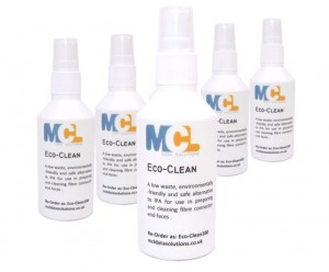 Eco-clean IPA Alternative Fibre Optic Cleaning Fluid 100ml