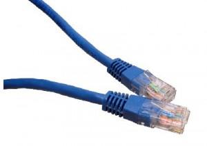 Blue 25m Cat6 Ethernet cable - Patch cable RJ45 UTP