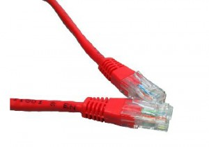 Red 2m Cat6 Ethernet cable - Patch cable RJ45 UTP