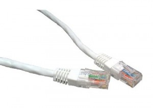 White 15m Cat6 Ethernet cable - Patch cable RJ45 UTP
