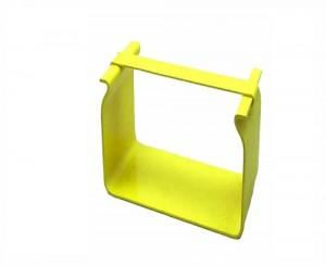 Fitting Splice 100mm Yellow