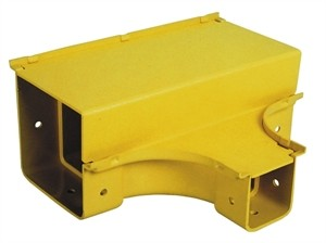 Horizontal Tee Reducer 100mm to 50mm Yellow