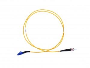 FC - LC 45° boot Singlemode fibre patch lead Simplex 0.5m