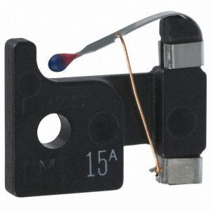 Cooper Bussmann - Alarm Indicating 15Amp fast acting fuse