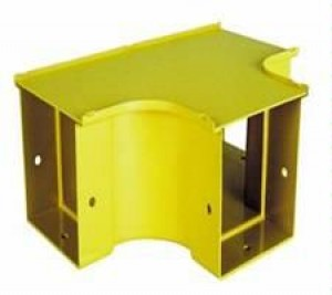 Horizontal Tee 200mm Yellow