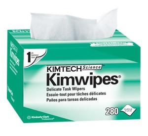 Kimtech Kimwipes Lint Free Fibre Optic Wipes