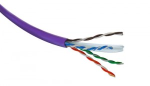 CAT6 UTP Violet LSOH Cable 305Mtr