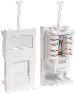 Cat5e Shuttered Module Low Profile UTP RJ45